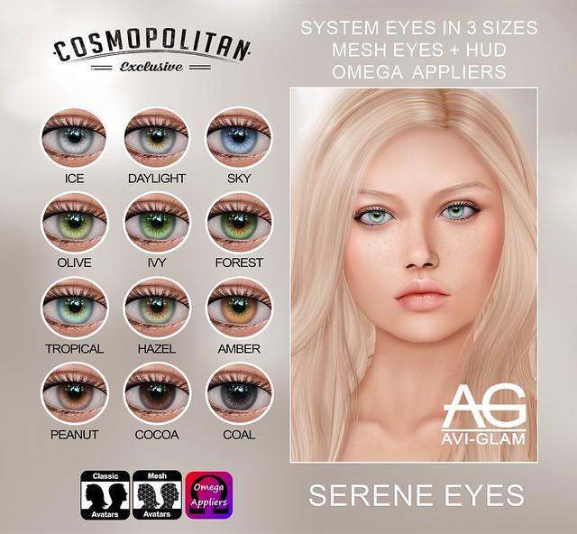 Serene Eyes (Cosmopolitan)