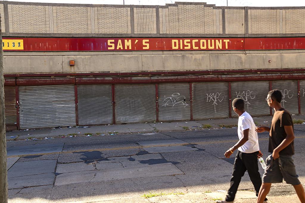 SAM'S DISCOUNT--Camden