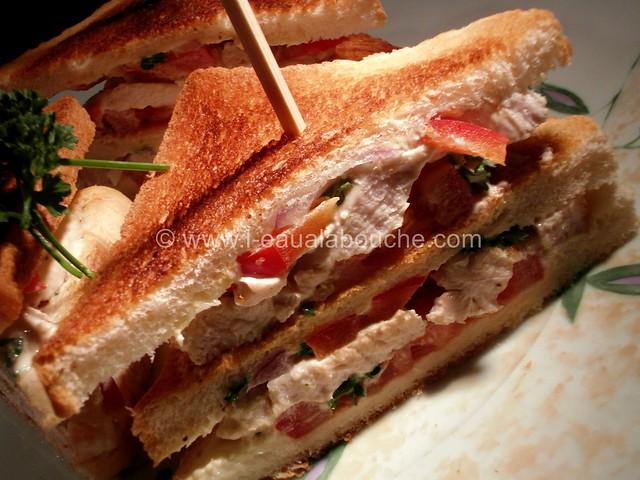 Club Sandwich à la Dinde © Ana Luthi Tous droits réservés 003