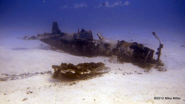 F4U Corsair Wreck