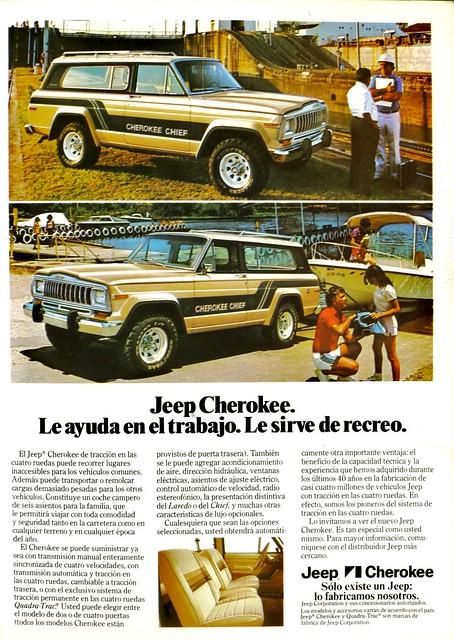 Jeep Cherokee, GeoMundo 1981