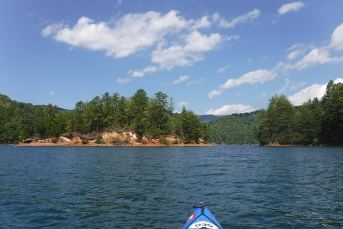 Lake Jocassee with Bennie Waddell-42