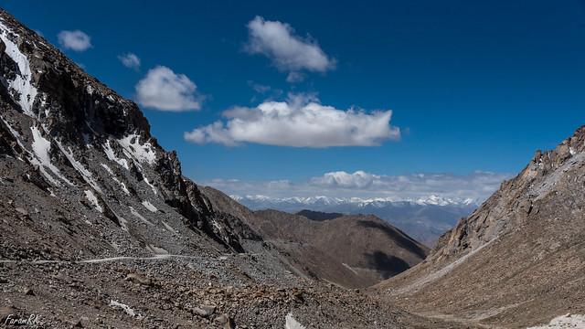Zanskar Range with Kang Yatze, from near Chang La