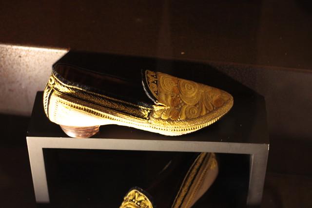 Chaussure avec broderie bigoudène