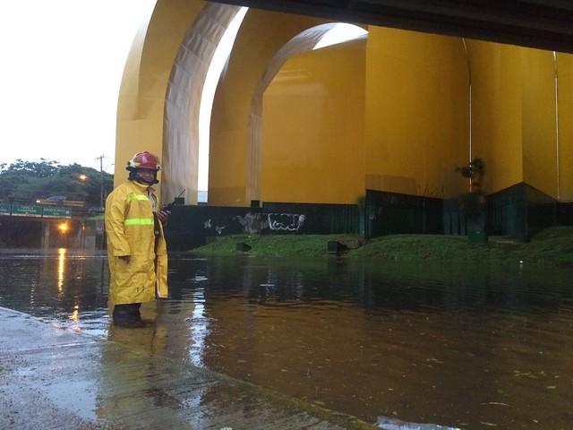 Estragos por lluvias en Guadalajara