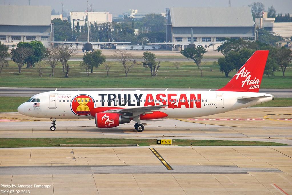 9M-AFA // AirAsia Airbus A320-214