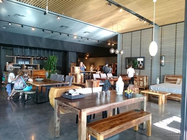 Artemano furniture store interior
