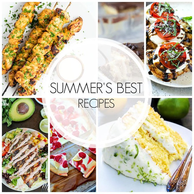 Summer's Best Recipes collage.