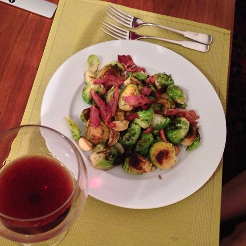 Cooking April Bloomfield, Part One: Brussels Sprouts With Pancetta and Juniper Berries | by John Niedermeyer