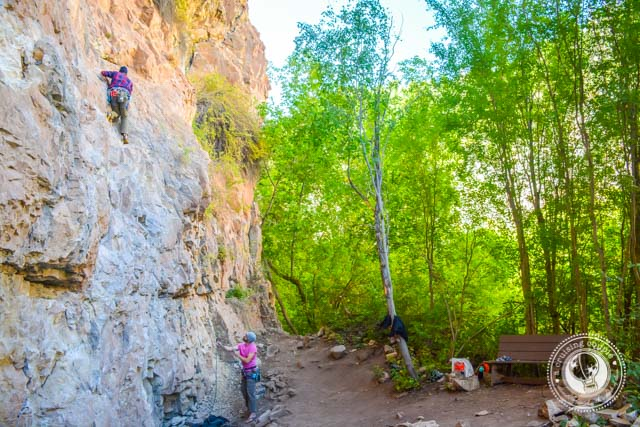 Snocone climbing area Rock Climbing Rifle Colorado