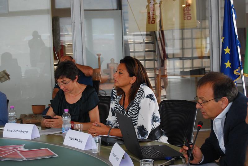 Visita di una delegazione dell'Institute of Scientific and Technical Information of China a Città della Scienza - 31 Agosto 2016