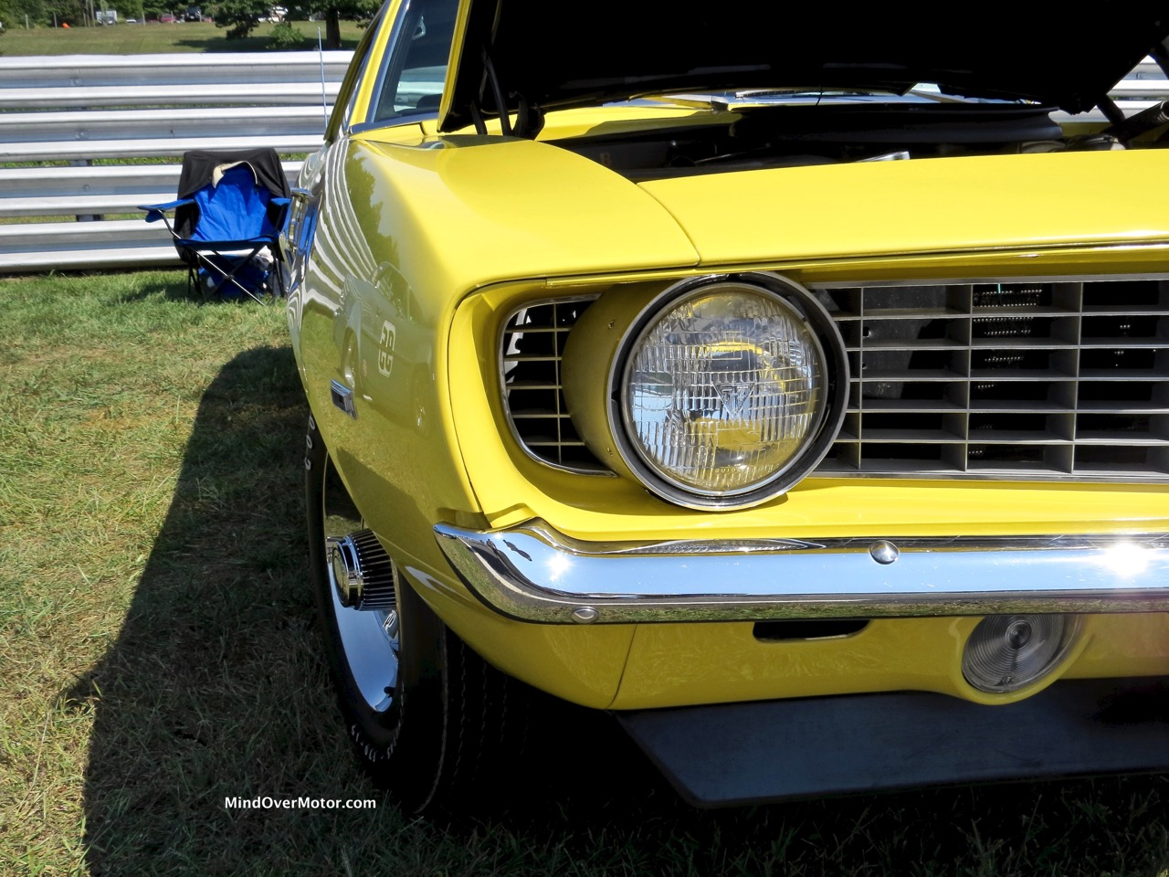 1969 COPO Camaro Front Shape