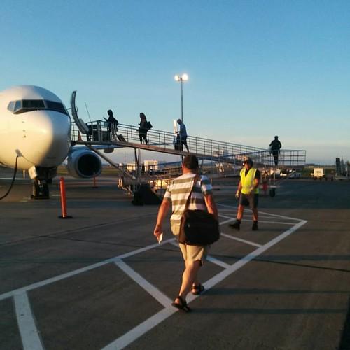 Boarding #pei #charlottetown #charlottetownairport #westjet