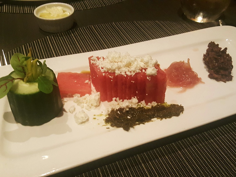 360 Restaurant watermelon feta
