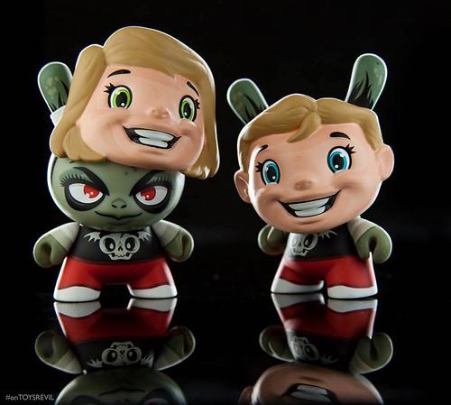 Odd Ones Ghoulie Jack & Ghoulie Jill