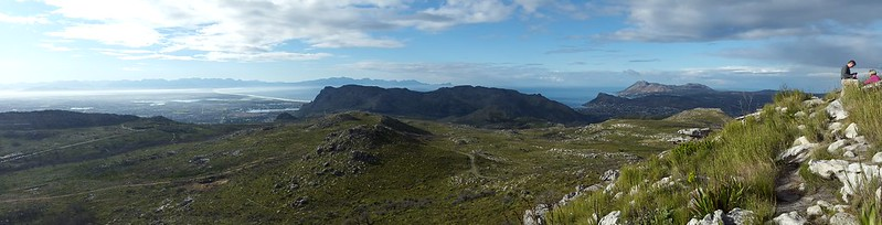 View east from Noordhoek Peak