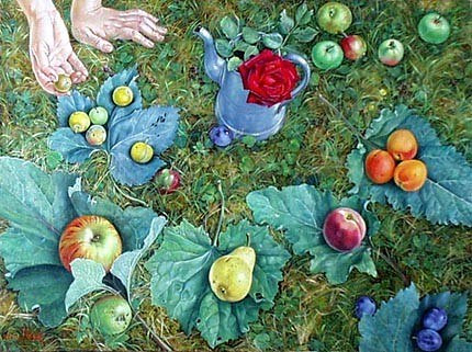 Francine van hove all this comes from the garden tout c for Ca vient du jardin