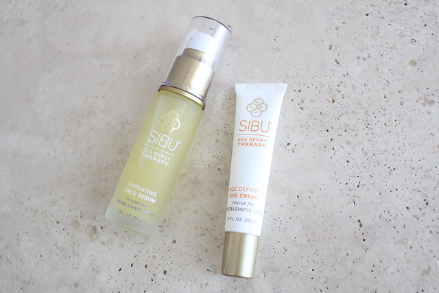 SIBU Hydrating Facial Serum, Age Defying Eye Cream, Sea Berry Seed Oil reviews