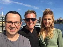 Fede con Mateo y Diana de Barcelona