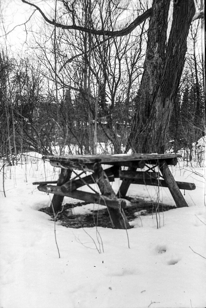 Vigilant Table - Kodak Vigilant Jr. 620 - Ilford Delta 400