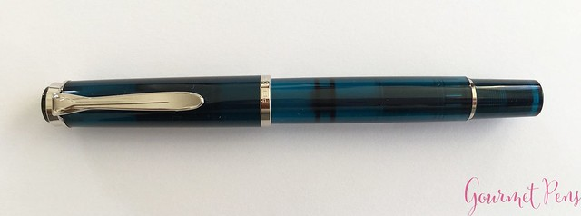 Review Pelikan Classic M205 Aquamarine Fountain Pen Review @AppelboomLaren 4
