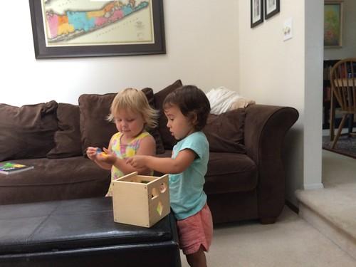 Christina and Aria Visit 2016