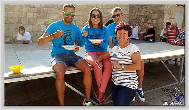 Briviesca en Fiestas 2016 Sopa de ajo, Recepción y canto del Himno a Briviesca 1 (2)
