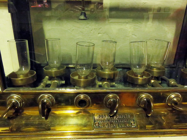 Spirit Cabinet at the Bushmills Distillery in Ireland, UK