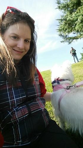 Winnipeg Westie Walk Selfie