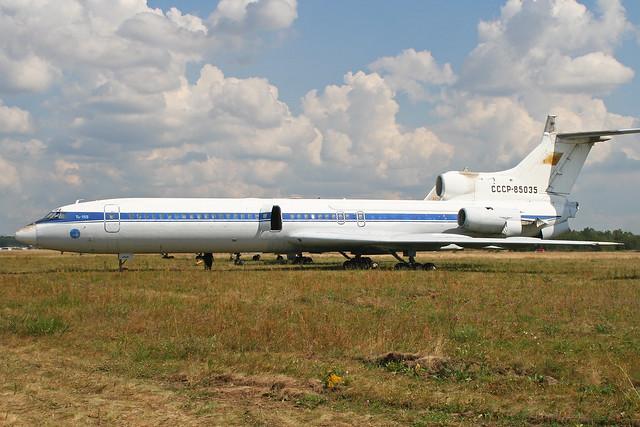 Tupolev Tu-155 (Tu-154) 'CCCP-85035'