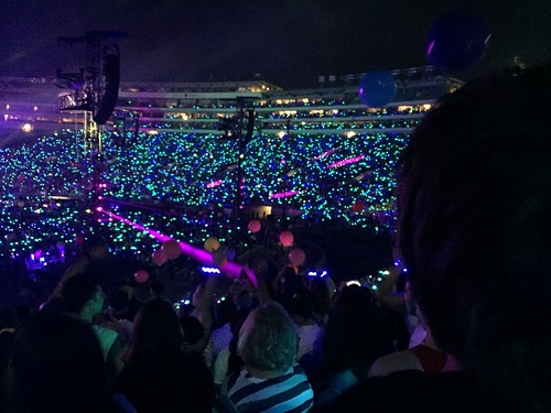 Coldplay show