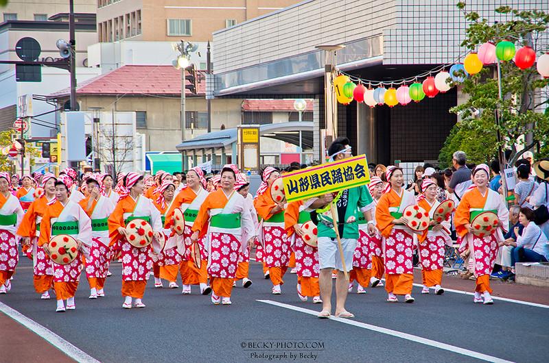 2016.Aug 山形花笠まつり @Yamagata, Japan