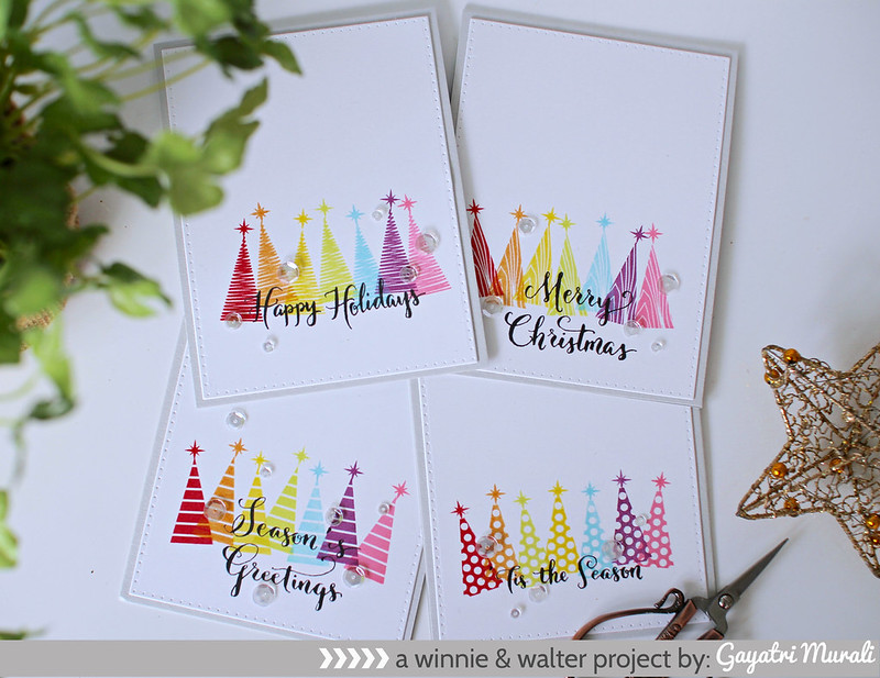 A set of holiday cards1
