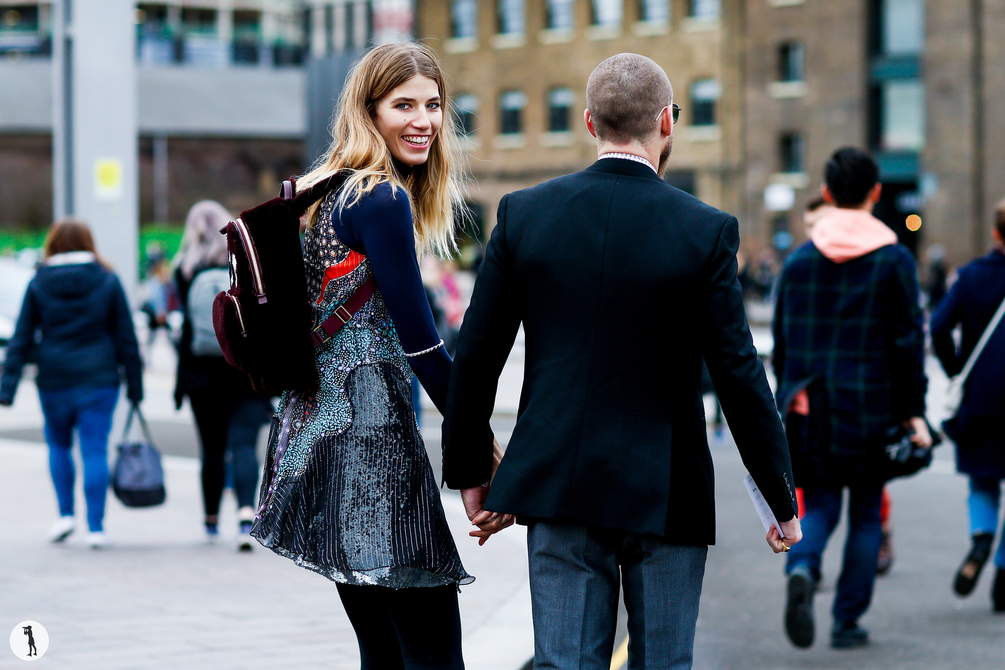 Veronika Heilbrunner and Justin O Shea - London Fashion Week RDT FW16-17 (1)