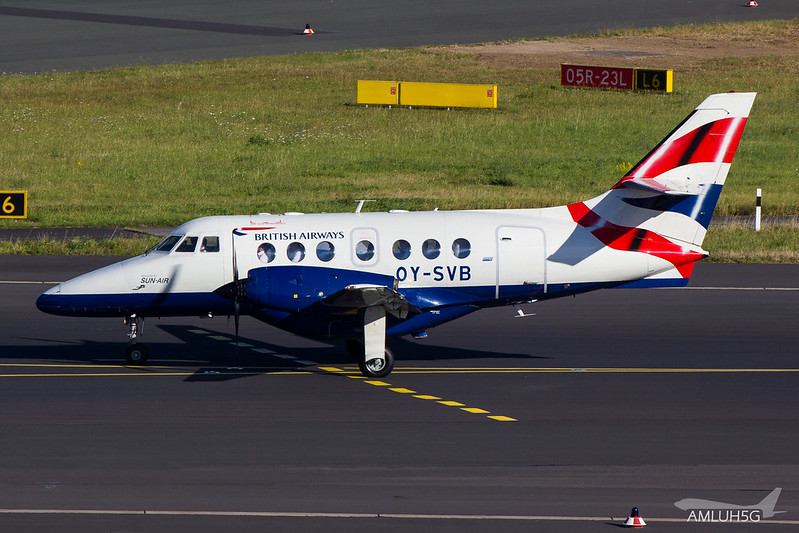 British Airways - JS32 - OY-SVB (1)