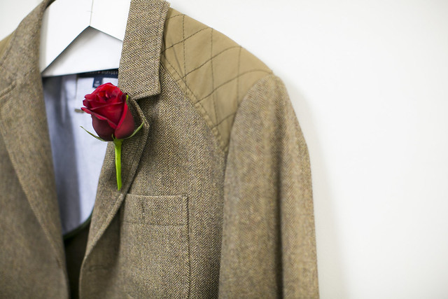 WG Well-Groomed Groom ShanBrandon 7 Jacket Boutonniere