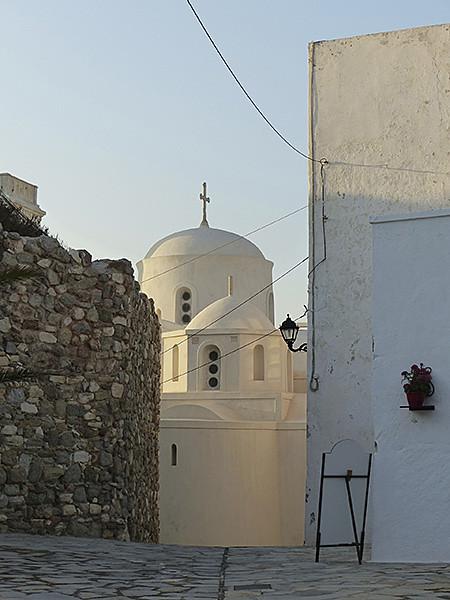 la cathédrlae catholique, Naxos