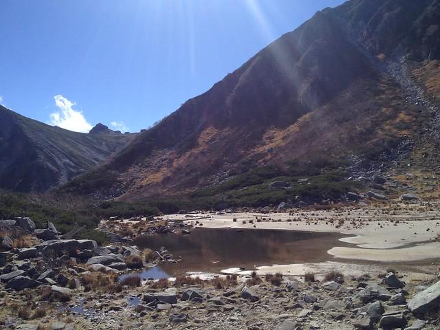 木曽駒ヶ岳 濃ヶ池