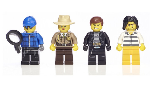 LEGO Cops & Robbers Minifigure Collection