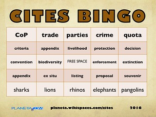 CITES Bingo 10.2016