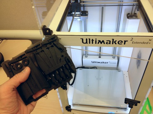 Raptor Reloaded on the Ultimaker