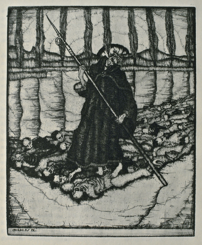 Stefan Eggeler - Illustrations for Hanns Heinz Ewers's Die Herzen der Könige, 1922 (4)