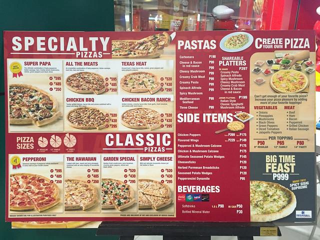 Patty Villegas - Papa John's Pizza - Branches - Pizza and Pasta -8