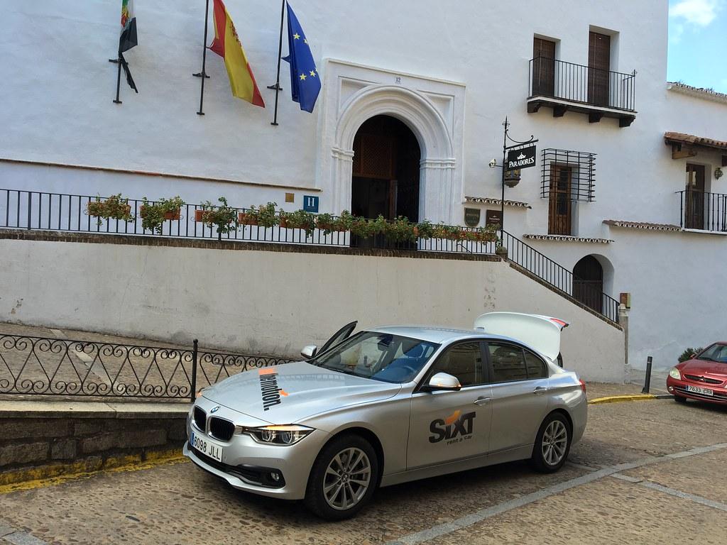 SIXT, Espanja vuokra-auto alla
