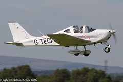 G-TECI - 2010 build Tecnam P2002-JF Sierra, departing from Runway 08R at Barton