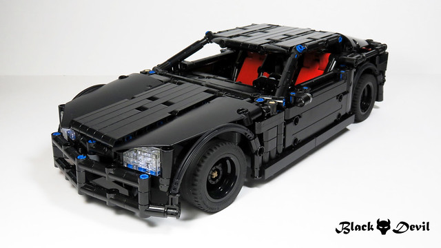 Black Devil LEGO Power Functions
