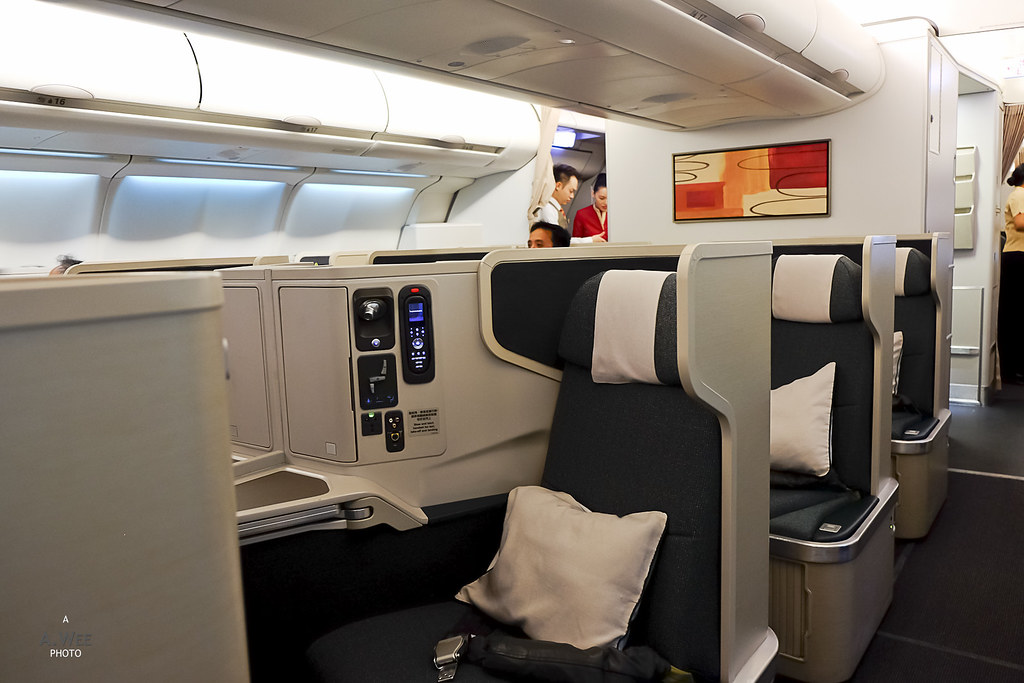 Cathay Cirrus Business Class