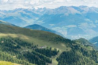 Wormisionssteig, Furkelhütte, Vinschgau
