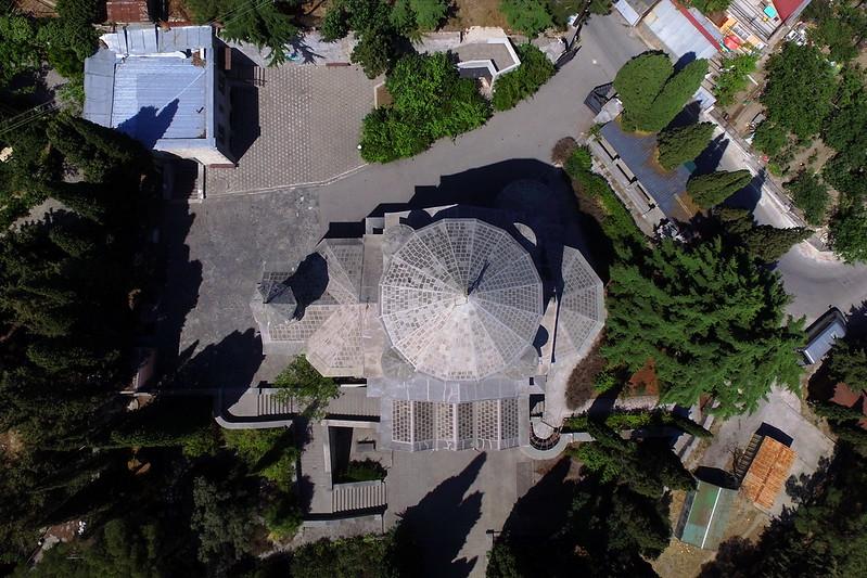 Yalta, S. Hripsime, aerial view, 2016.06.22