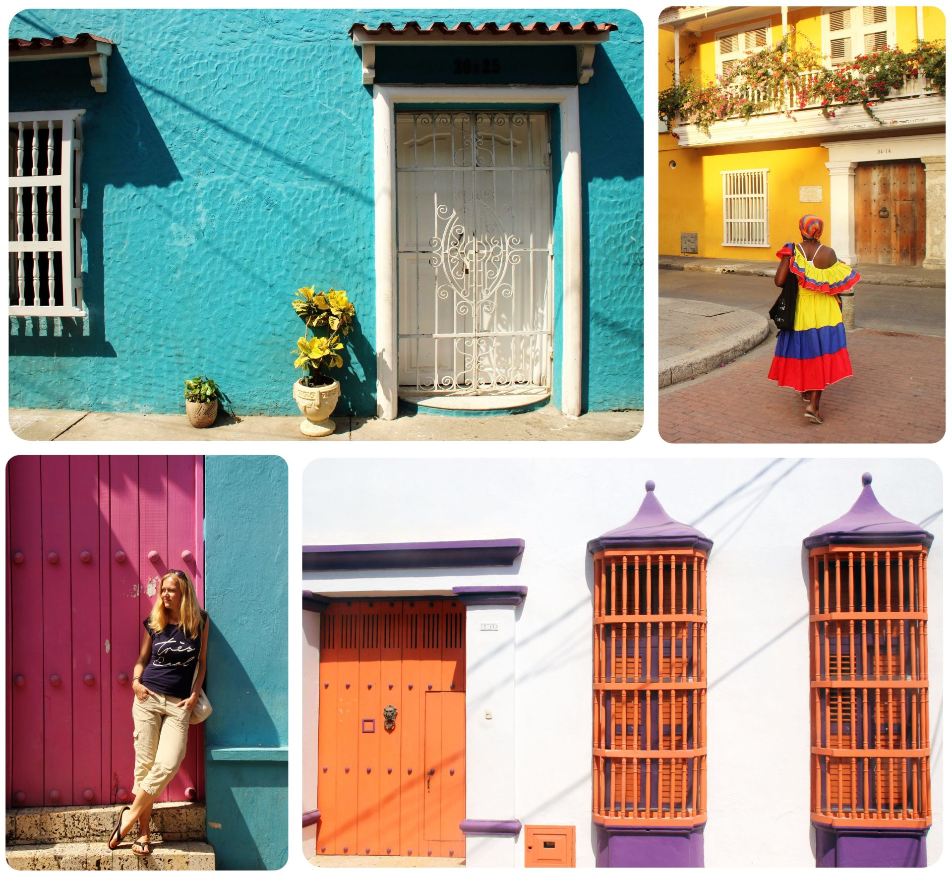 Cartagena Collage
